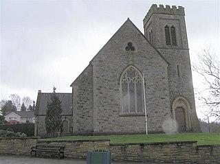 Ballinamallard village in United Kingdom