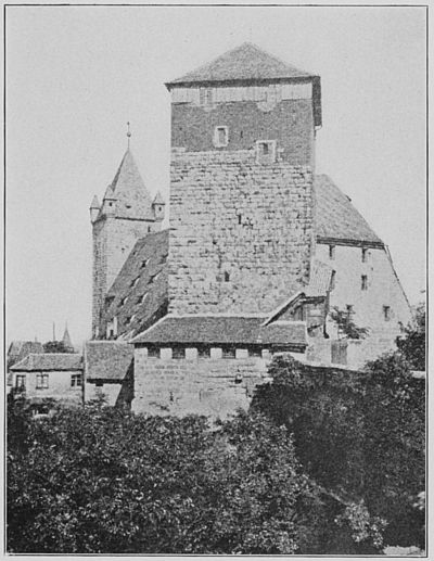 The Tower of the Castle at Nurnberg