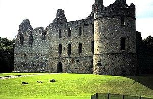 John Douglas, Lord of Balvenie - Balvenie Castle, caput of John of Balvenie's territories