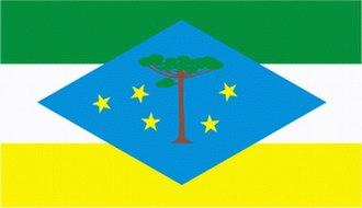 Laranjeiras do Sul - Image: Bandeira de Laranjeiras sul