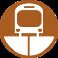 Bangkok MRT Brown line unofficial logo.png