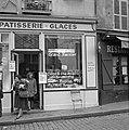 Banketbakker in Montmartre verkoopt crêpes met Grand Marnier, Bestanddeelnr 254-0487.jpg