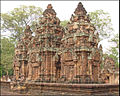 Banteay Srei, chef-dœuvre de lart khmer (6883279101).jpg