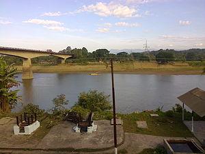 Barak River - Barak  River in  Lakhipur, Assam