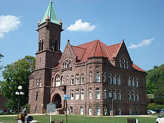 Barbour County, West Virginia - Image: Barbour County Courthouse