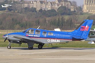 Connellan air disaster - A Beechcraft Baron 58 similar to that used in the attack