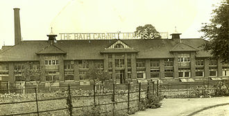 Bath Cabinet Makers - Bath Cabinet Makers factory in Bellotts Road, Twerton. Built 1895.