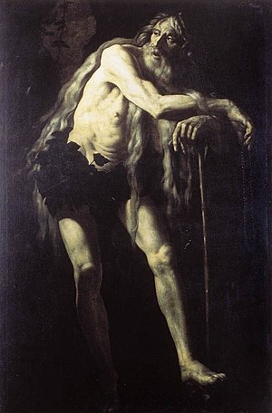 Onuphrius - Battistello Caracciolo, Galleria Nazionale d'Arte Antica, Rome