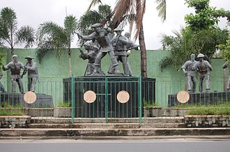 Battle of Binakayan-Dalahican - Monument of the Battle of Binakayan