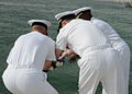 Battle of Midway remembrance at NSA Bahrain 130505-N-QY759-058.jpg