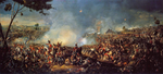The Battle of Waterloo by William Sadler