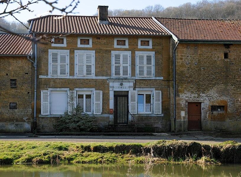 Maison de 1853 à Bazeilles-sur-Othain .