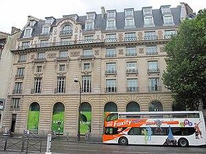 Union de Transports Aériens - The former head office in central Paris