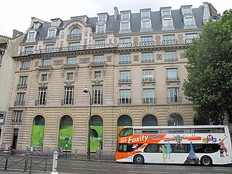 Union de Transports Aériens - The former head office in central Paris