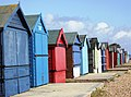 Beach Huts at Calshot. - geograph.org.uk - 382542.jpg