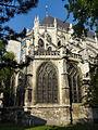 Beauvais (60), église Saint-Étienne, chœur, angle nord-est.JPG