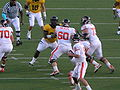 Beavers on offense at OSU at Cal 2009-11-07 6.JPG