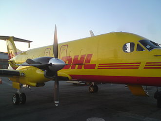 Solenta Aviation - Many Solenta Aviation aircraft feature the DHL logo and livery.