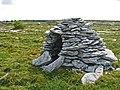 Beehive Burren hut in drystone dyked field - geograph.org.uk - 858150.jpg