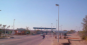 Beitbridge Borderpost, Zimbabwe