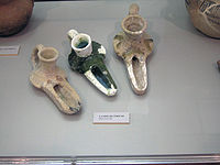 Early Islamic oil lamps (11th c.), found in Southern Portugal