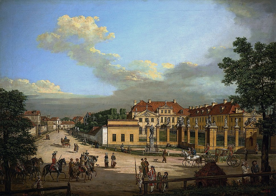 Bellotto Mniszech Palace in Warsaw