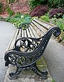 Bench, Canal Gardens, Roundhay Park (4712652264).jpg