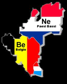 Lussemburgo Cartina Muta.Benelux Wikipedia