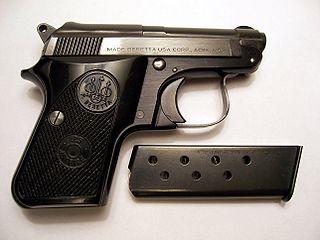 Italian semi-automatic pocket pistol