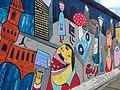 Berlin, East Side Gallery 2014-07 (Jim Avignon - Doin It Cool For The East Side) 3.jpg