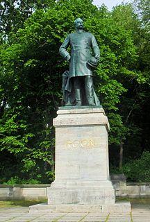 Statue of Albrecht von Roon