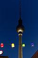 Berliner Fernsehturm während der blauen Stunde 20140808 5.jpg