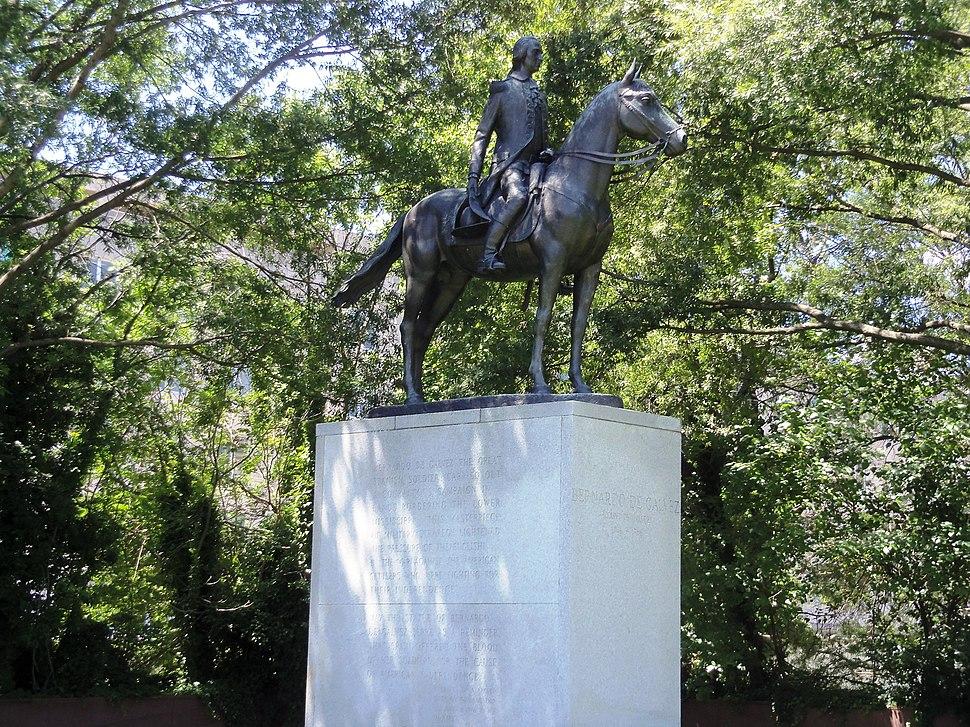 Bernardo de Gálvez in DC