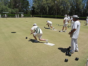 A Bowls tournament in Berrigan, New South Wales