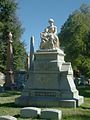 Bethell-Foster Monument at Fairmount Cemetery, Denver.JPG