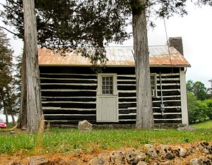 National Register of Historic Places listings in Claiborne County, Tennessee - Image: Big Springs Primitive Baptist tn 1