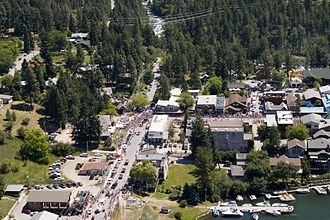 Bigfork, Montana - Bigfork during Independence Day parade