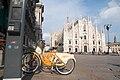 Bikemi Milano PiazzaDuomo.jpg