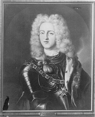 John Christian, Count Palatine of Sulzbach - Image: Bildnis Johann Christian von Sulzbach (1700 1733)