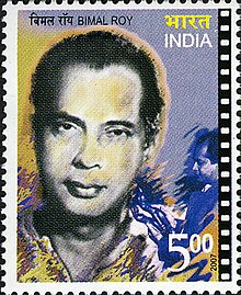 Bimal Roy 2007 stamp of India.jpg