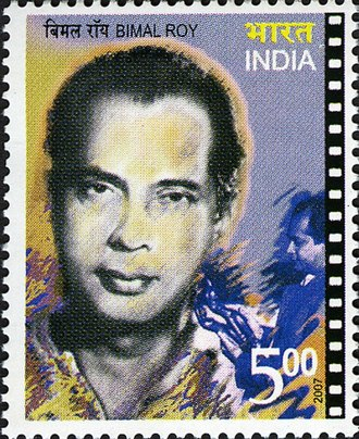 Bimal Roy - Roy on a 2007 stamp of India