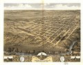 Bird's eye view of the city of Shelbyville, Shelby County, Illinois 1869. LOC 73693373.tif