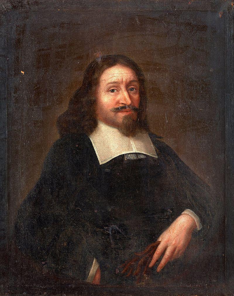 Jesper Swedberg, troligen avmålad av David Klöcker Ehrenstrahl.