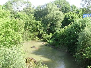 Black Creek (Toronto) river in Canada