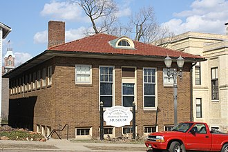 National Register of Historic Places listings in Jackson County, Wisconsin - Image: Black River Falls Wisconsin Public Library Carnegie