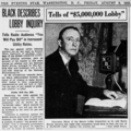 Black Tells of $5 million Lobby - Washington Evening Star - August 9, 1935.png