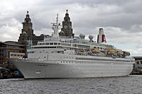 Black Watch cruise ship, Liverpool Cruise Terminal (geograph 4545674).jpg