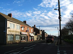Blackhall Colliery - Middle Street (A1086)