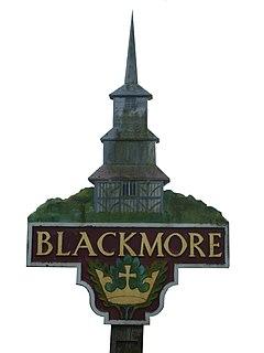 Blackmore village in United Kingdom