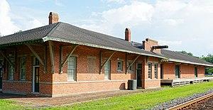 Blackshear Depot - Image: Blackshear Depot, Blackshear, GA, US